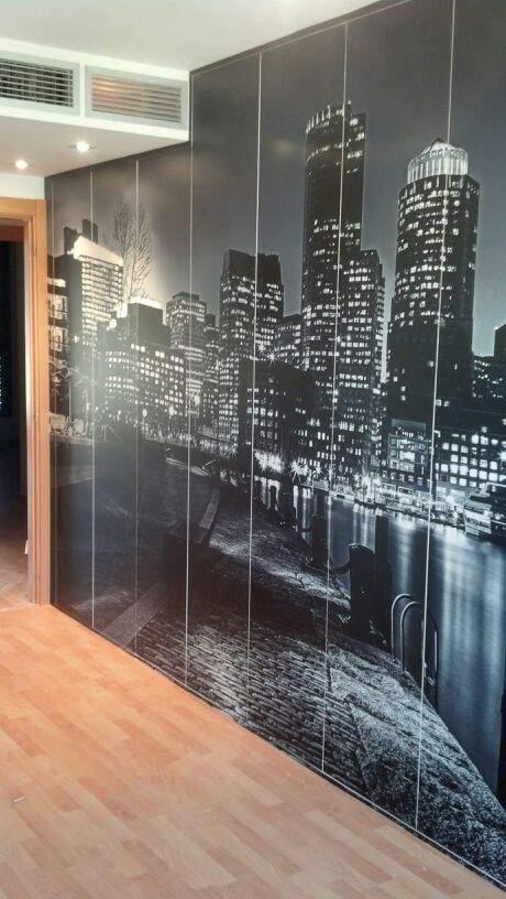 Forrado armario mural